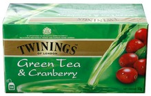 Twinings - Green Tea with Cranberry